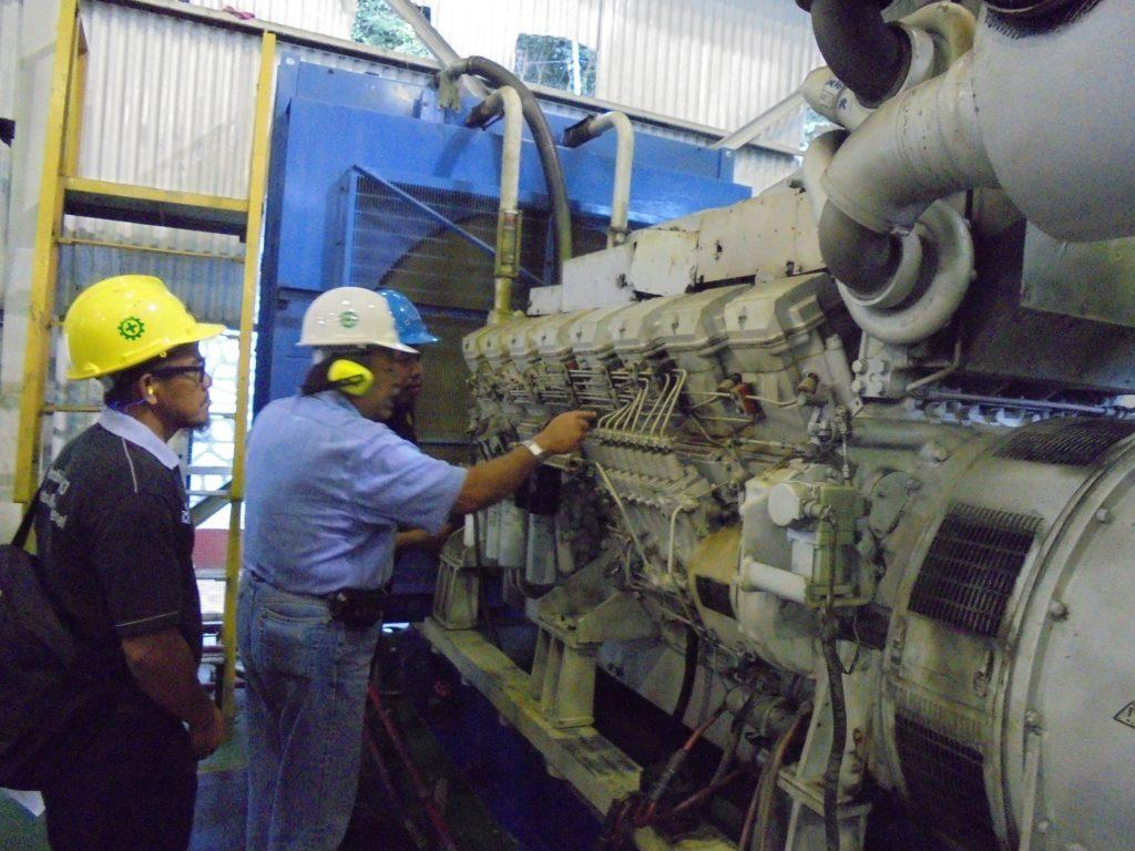 riksa uji pesawat tenaga produksi